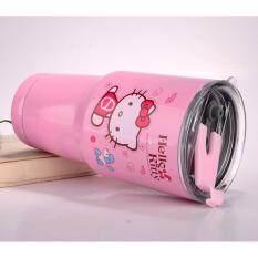 ราคา แก้วเก็บอุณหภูมิ Yeti Rambler 30Oz เก็บร้อน เย็น ได้ 24 ชั่วโมง ลาย คิตตี้ Hello Kitty ออนไลน์