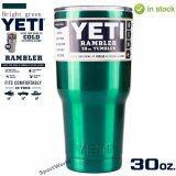 ขาย Yeti Rambler แก้วเก็บความเย็น เก็บน้ำแข็งได้นาน 24ชั่วโมง สีเขียวเมทาลิค Yeti เป็นต้นฉบับ