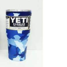 โปรโมชั่น Yeti Rambler Tumbler แก้วน้ำเก็บอุณหภูมิ Yeti แก้วเก็บร้อน แก้วเก็บความเย็น แก้วกาแฟ แก้วเบียร์ ขนาด 30 ออนซ์ Yeti