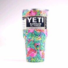 Yeti Rambler Tumbler แก้วเยติ แก้วน้ำเก็บอุณหภูมิ แก้วเก็บความเย็น Yeti แก้วเก็บร้อน แก้วกาแฟ แก้วเบียร์ ขนาด 30 ออนซ์ ฟามิงโก้ Yeti ถูก ใน กรุงเทพมหานคร