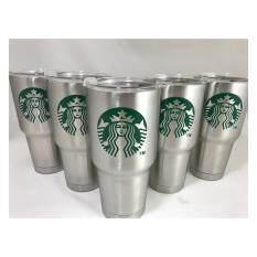 ซื้อ แก้วเก็บความเย็น Yeti ลาย Starbucks สีเงิน ออนไลน์