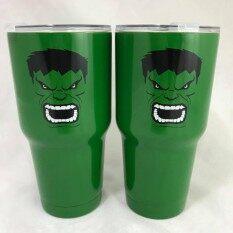 ราคา ราคาถูกที่สุด แก้วเก็บความเย็น Yeti ลาย The Hulk