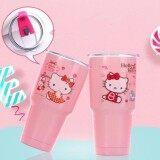 ราคา ราคาถูกที่สุด Yetiแก้ว Yeti เก็บความเย็น สีชมพู ลาย Kitty Limited Edition ขนาด 30 Oz