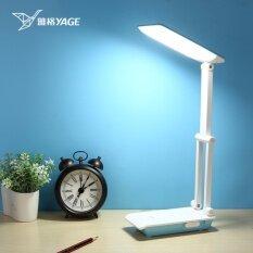 โคมไฟตั้งโต๊ะ พับได้ Yg-5952  Led 32ดวง แสงไฟสีขาว ปรับระดับความสว่างได้ 3 ระดับ ชาร์จไฟได้ในตัว.