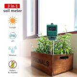 Yieryi 3 In 1 Plant Flowers Soil Ph Tester Moisture Measuring Humidity Light Meter Hydroponics Analyzer Gardening Detector Hygrometer High Quality Garden Tool Intl ใน จีน