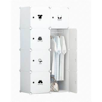 Yifun ตู้เสื้อผ้า ตู้อเนกประสงค์ DIY Wardrobe