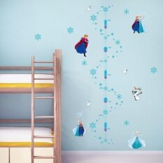 ขาย Yika Frozen Elsa Anna Height Chart Removable Wall Stickers Decal Kids Decor Nursery Intl เป็นต้นฉบับ