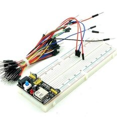 ความคิดเห็น Yika New Mb 102 Solderless Breadboard Protoboard 830 Tie Points 2 Buses Test Circuit Intl