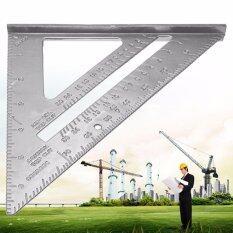 ราคา Yingwei 7 Metal Speed Square Protractor Miter Framing Measurement Ruler For Carpenter Intl Yingwei