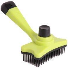 ราคา Yingwei Remove Hair Comb Fast And Easy To Use For Pet Cat Dog Green เป็นต้นฉบับ