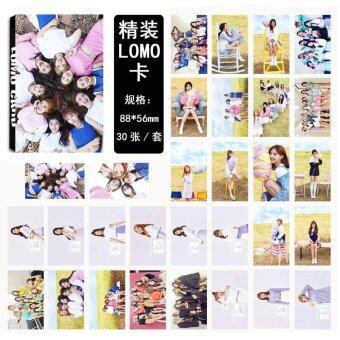 Twice MINI3 TT อัลบั้ม LOMO การ์ด แฟชั่นใหม่ Self ผลิตกระดาษการ์ดรูปถ่าย HD Photocard LK432
