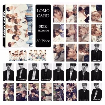 WANNA ONE Album LOMO Cards New Fashion Self Made Paper Photo Card HD Photocard LK505 - intl