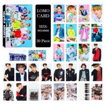 Wanna One Collective Members Album LOMO cards ฮิปฮอปแฟชั่นใหม่ Paper Photo Card HD photocard