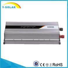 ขาย ซื้อ Ysmart 2000W Pure Sine Wave Off Grid Tie Inverter Optional 24V Dc Input And 220V Ac Output Microprocessor Based Design Jyp 2000W 12V 220V Intl ใน จีน