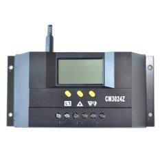 ราคา Ysmart Cm3024 Pwm Lcd 30A Solar Controller 12V 24V Auto Solar Panel Controller Regulator Charge For Pv System Intl ใหม่ ถูก