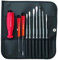 โปรโมชั่น Pb Swiss Tools ชุดไขควง พร้อมซองหนังอย่างดี 10 ตัวชุด รุ่น 8215L Pb Swiss Tools ใหม่ล่าสุด
