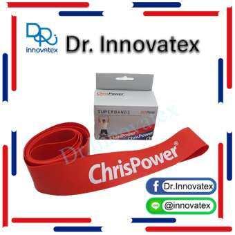 ChrisPower Superbands Light 0.80 mm x 50 mm x 100 cm (สีแดง)