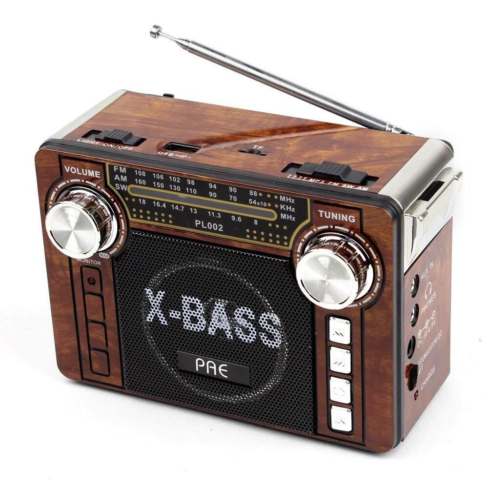 Telecorsa วิทยุ Am/fm/sw Pae-Pl002(3) มีไฟฉายในตัว รุ่น Pl002-3-52b-Song By Mhf Thailand.
