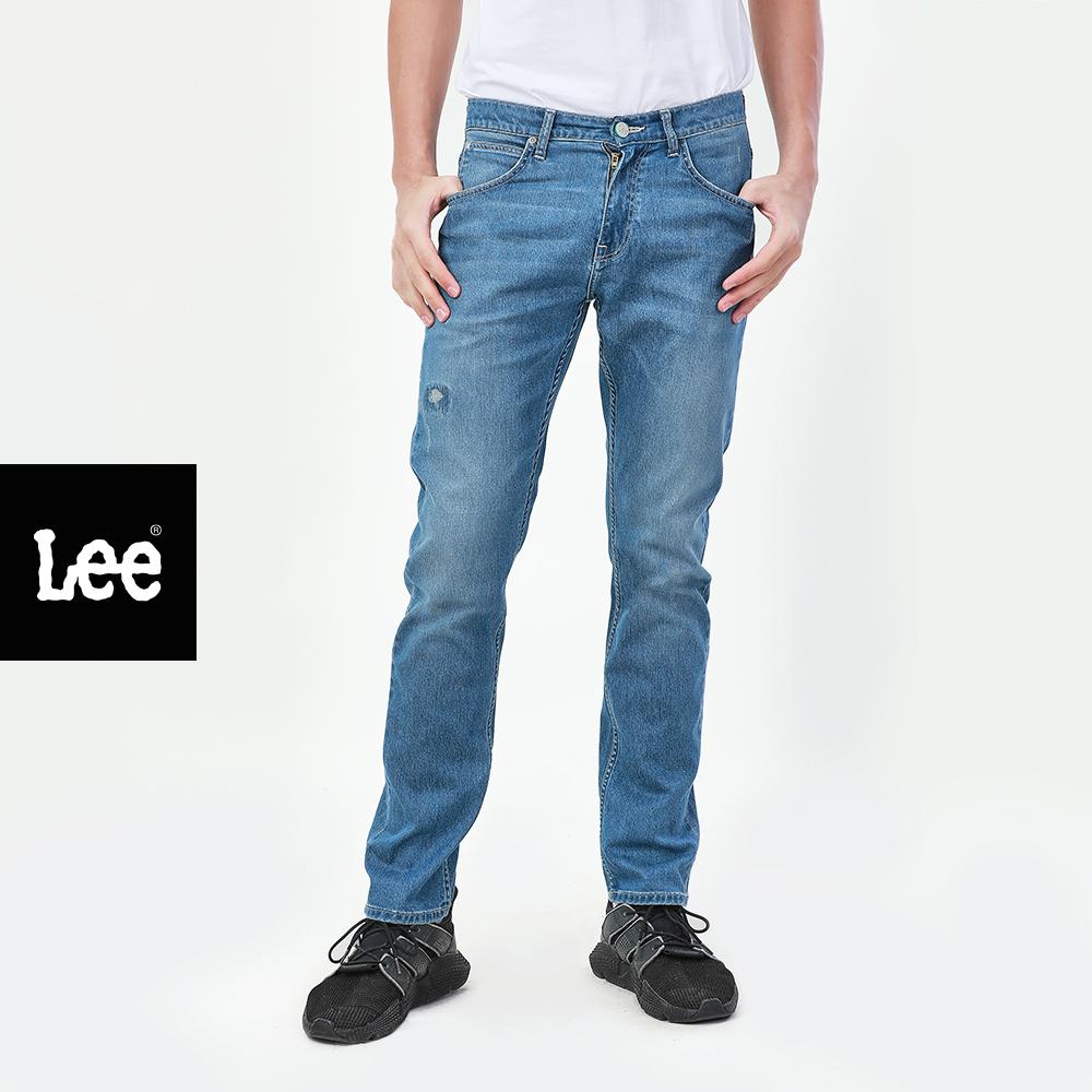 Lee กางเกงยีนส์เอวกลางทรงตรง Zed รุ่น Le 10747006 ลี เสื้อผ้าผู้ชาย กางเกงยีนส์ผู้ชาย.