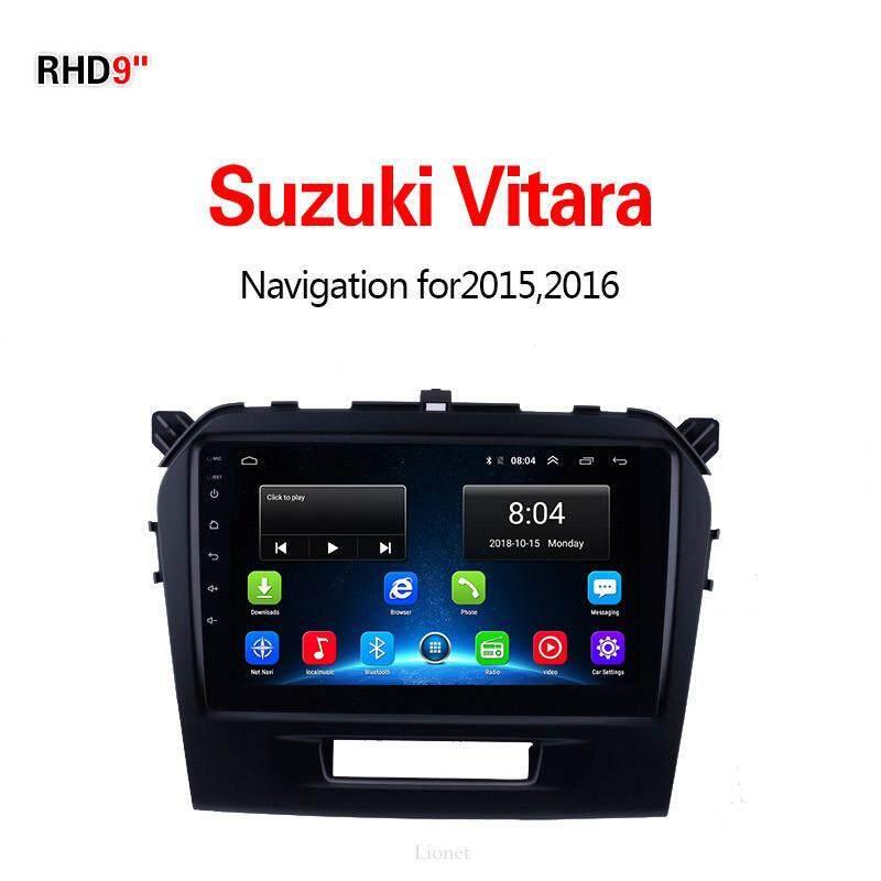 เครื่องนำทาง สำหรับรถยนต์ Suzuki Vitara 2015-2016 9 Inch Android 6.0 4g Net 1g/16g แผนที่ในการนำทาง By Gointer.