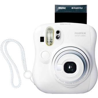 กล้องโพลารอยด์ FUJIFILM Instax Mini 25 Color (White) สีขาว แถมฟรี  กระเป๋าสะพาย กล้องโพลารอยด์ fuji กล้อง polaroid กล้องโพลารอย ด์ ฟูจิ กล้อง  instax
