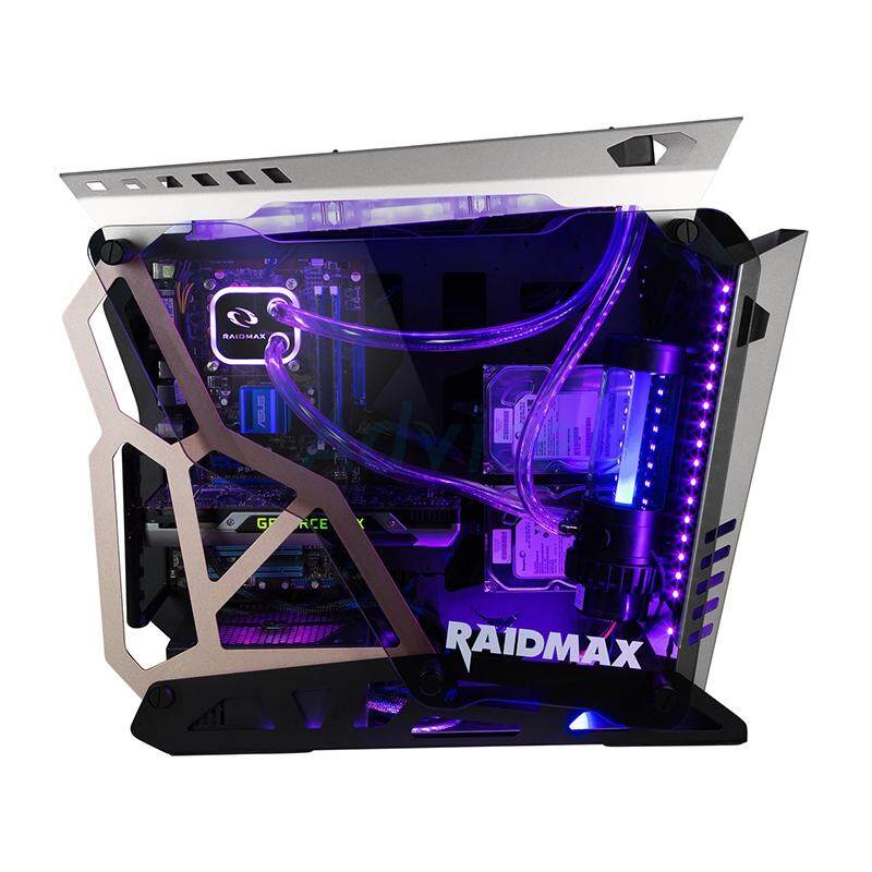 Atx Case (np) Raidmax X08 (black/silver) By We Have Item.