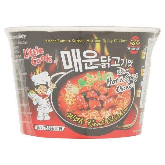 อาหารแห้ง & อาหารกระป๋องลิตเติ้ลกุ๊ก ราเมงกึ่งสำเร็จรูป ไก่เผ็ดเกาหลี 150กรัมบะหมี่กึ่งสำเร็จรูป โจ๊ก และซุปบะหมี่กึ่งสำเร็จรูป By Bitshop.