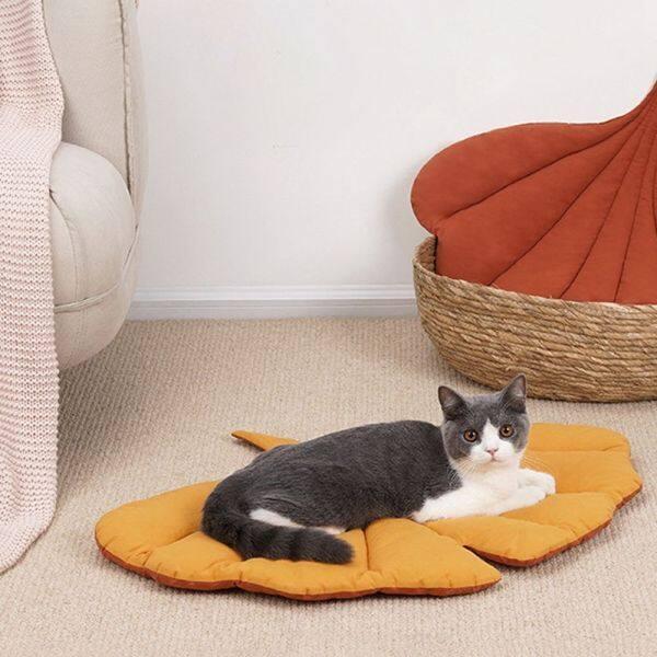 Thảm Giữ Ấm GA27524, Tổ Mèo Con, Nệm Nhà Nhỏ Vừa Cho Thú Cưng Chó Con Cho Chó Mèo Giường Giường Cho Chó Đệm Cho Mèo