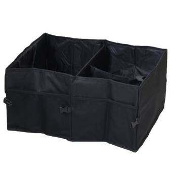 โปรโมชั่น WINS กระเป๋าจัดเก็บสัมภาระสำหรับจัดระเบียบของใช้ในรถยนตร์ พับเก็บได้ (สีดำ)
