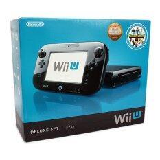 Nintendo Wii U Deluxe Set 32GB Black (Us)