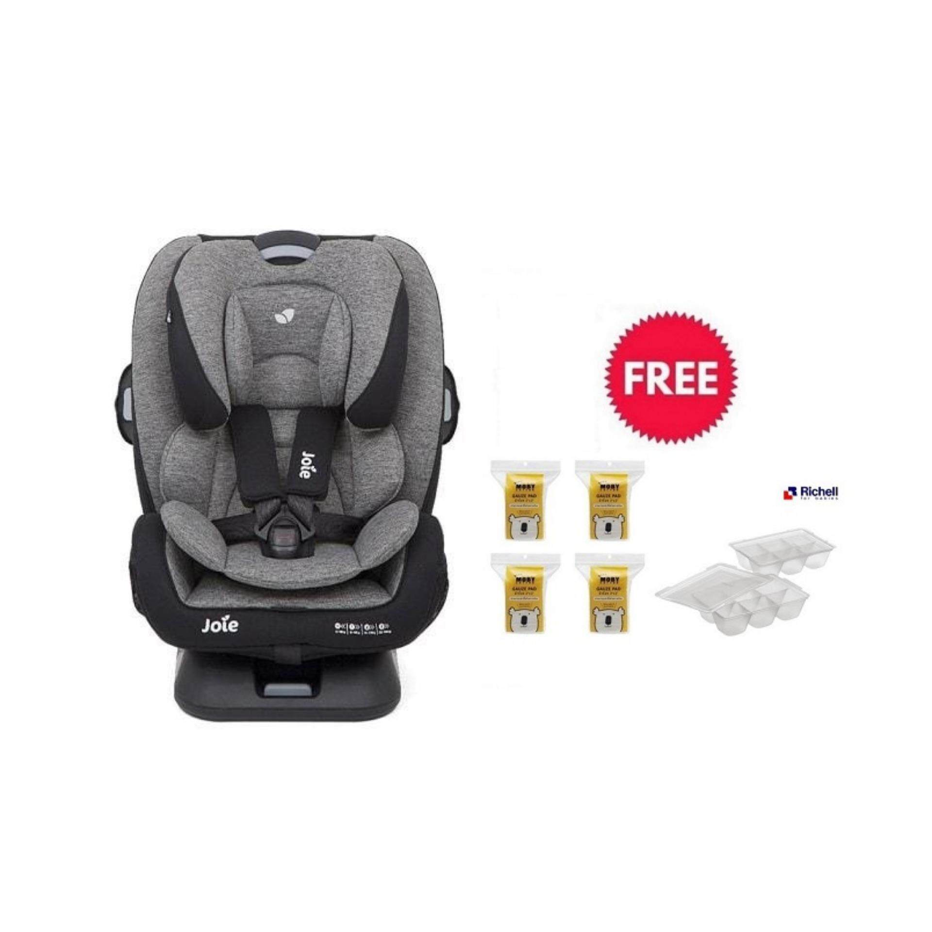 [ผ่อนได้] Joie Car Seat Every Stage FX TTB / 100% แท้ + Free (Baby Moby Gauze x 4) & Richell Food Maker Tray