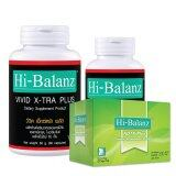 ขาย Hi Balanz Vivid X Tra Plus L Carnitine Set 60 Caps 30 Caps Hi Balanz Kdtx Plus Detox ขนาด 10 ซอง กล่อง 1 Box ถูก