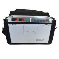 Winmax เครื่องนับธนบัตร เครื่องนับเงินพกพา พร้อมกระเป๋าหนัง รุ่น Winmax Hhok1000 สีขาว Winmax ถูก ใน Thailand