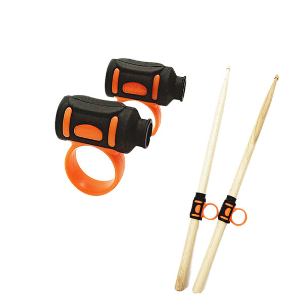 Drum Stick Controller Drum Clip Assist Control Drum Stick Hand Control Drum Stick Accessories Easy To Rotate Or Grip Drum Stick Pattern Loop Finger-L