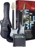 ขาย Stagg กีต้าร์ไฟฟ้า Set รุ่น Esurf 250 สีดำ Stagg เป็นต้นฉบับ