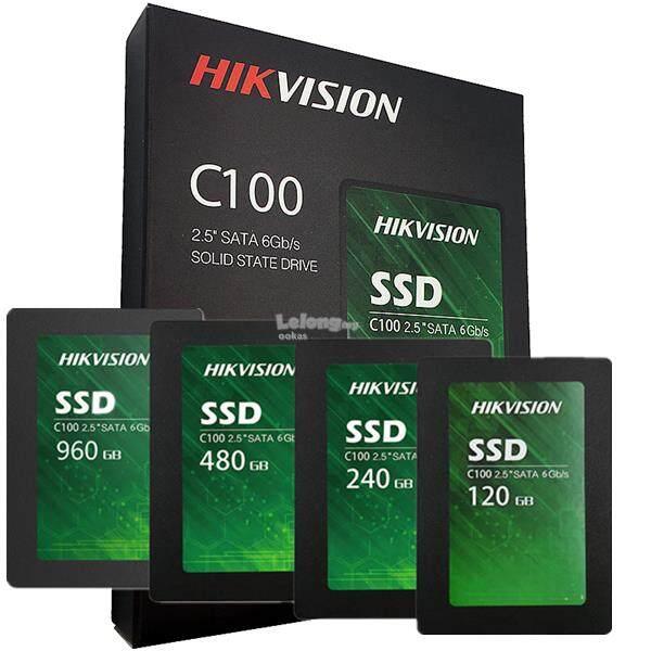 Ssd 120gb 240gb 480gb 960gb Hikvision C100 ประกัน 3 ปี.
