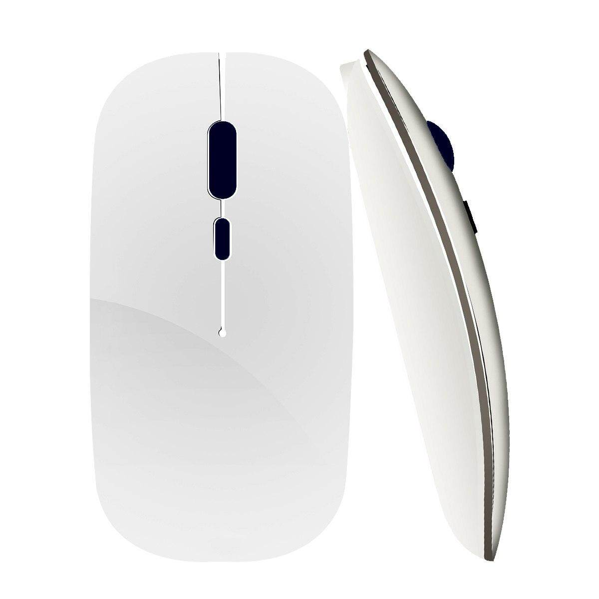 Wireless Mouse Rechargeable Computer Mouse USB Silent Ergonomic Mause Portable Ultra Thin Mute Mice For PC