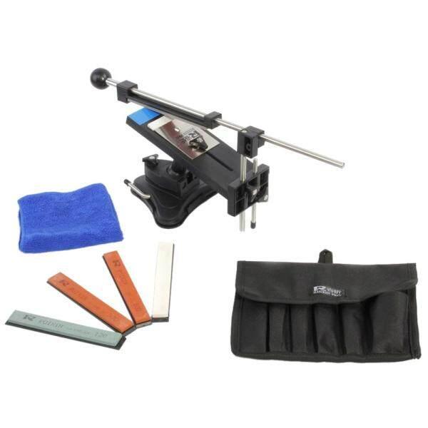 Upgraded Version Fixed-angle Knife Sharpener Professional Kitchen Knife Sharpener Kits System 4 Sharpening Stones