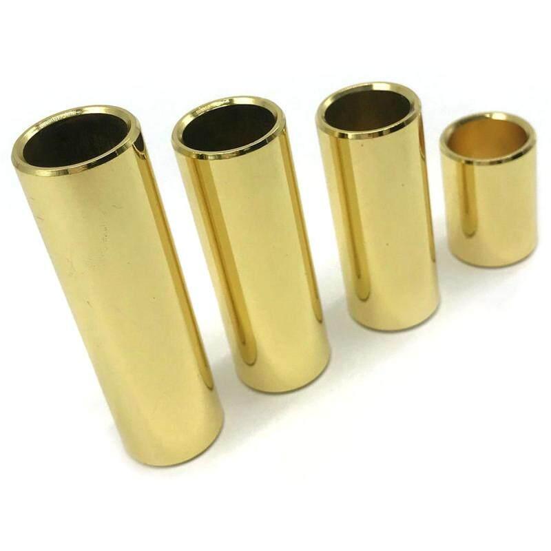 Electric Guitar Slide Bar,4pcs One Set Golden copper Bass Lap Slide Bar Stick For Electric Guitar Malaysia