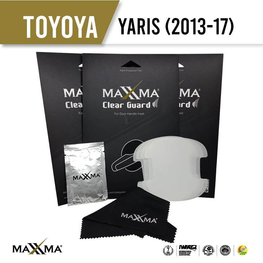 Maxxma Clear Guard ฟิล์มกันรอยเบ้าประตู Toyota Yaris (2013-17) By Maxxma.