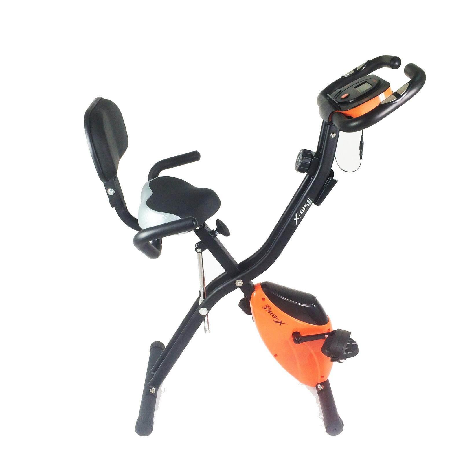 X-Bike จักรยานออกกำลังกายระบบแม่เหล็กแบบพับได้