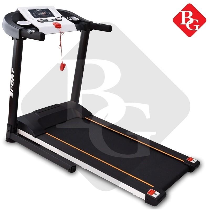 B&G ลู่วิ่ง ลู่วิ่งไฟฟ้า ลู่วิ่งฟิตเนส Treadmill มอเตอร์ สูงสุงได้ถึง3แรงม้า (Single Function) Treadmill - รุ่น MT900