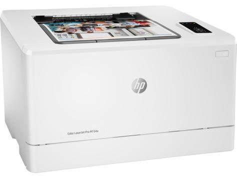 Hp Color Laserjet Pro M154a Color Laser Printer (t6b51a) - Print Only, Usb, 16/16 Ppm, 1 Years Warranty - เครื่องพิมพ์เลเซอร์สี.