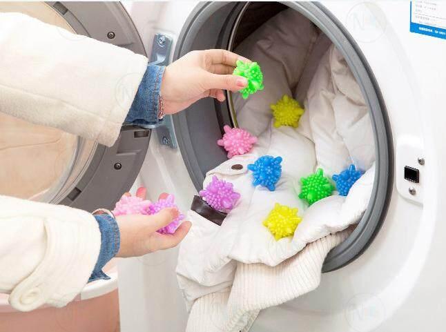 (ชุด10ชิ้น)ลูกบอลป้องกันผ้าพันกันเวลาซักผ้า และเพิ่มแรงขยี้ในเครื่องซักผ้า รุ่น 5337 By Nanarak.