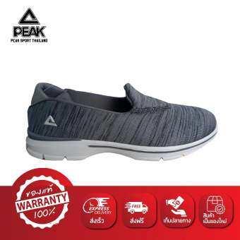 PEAK รองเท้า ลำลอง ระบายอากาศ พีค Sneaker Shoe รุ่น EW7255E - Grey-