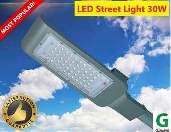 (แบบต่อไฟบ้าน) โคมไฟถนน LED Electric Street Light Outdoor 30W (Waterproof ultra-thin LED garden light 30W) -เฉพาะโคม