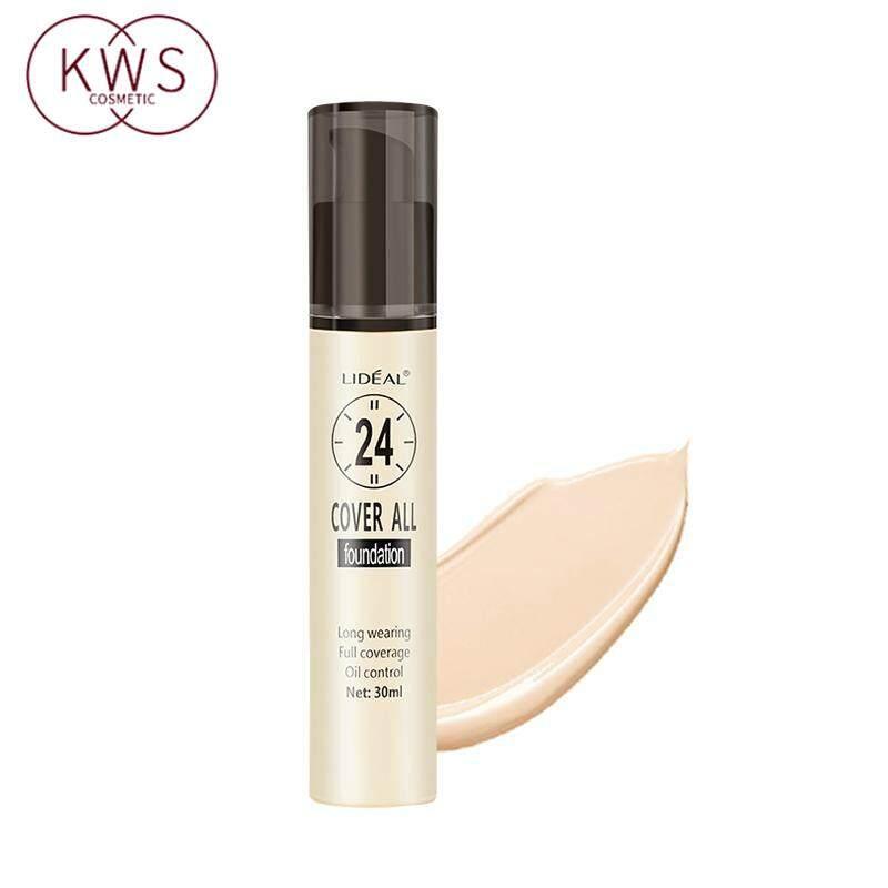 Lideal 3117 ขาวเนียน คอนซีลเลอ ครีมบำรุงผิวให้ความชุ่มชื่น ซ่อมแซมผิวและทำให้สว่างขึ้น 30ml Natural Flawless BB Cream Long Lasting Moisturizing Brightening Concealer Nude Foundation Makeup Face Beauty-KWSCosmetic