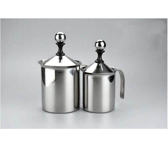1 ชิ้น ถ้วยปั๊มฟองนม ขนาด 400ml หรือ 800ml ถ้วยตีฟองนม เครื่องทำฟองนม ที่ตีฟองนมทำความสะอาดง่าย ทนทาน ใช้กับเครื่องล้างจานได้ใช้ได้กับทั้งนมร้อนและนมเย็นทุกประเภท.