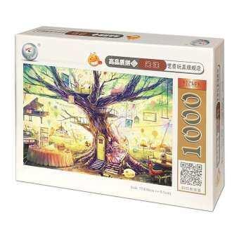 จิ๊กซอว์ 1000 ชิ้นทำจากไม้ผู้ใหญ่เด็กไหวพริบดีของเล่นไม้เด็กชายและเด็กหญิงความคิดสร้างสรรค์ของขวัญการ์ตูนอนิเมะ-