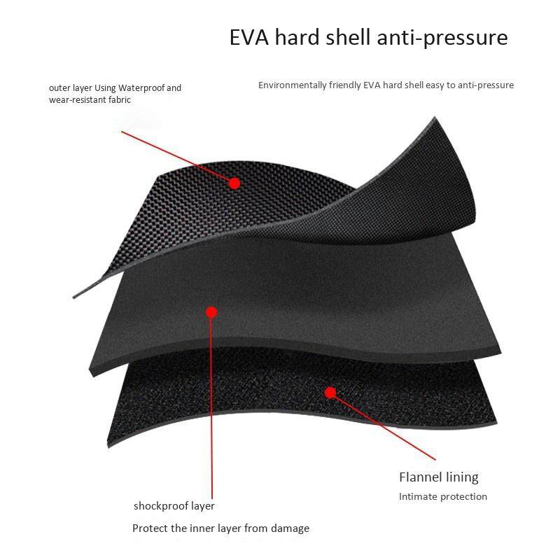 Travel Carrying Case Portable Eva Hard Shell for XBOX ONE NS Switch Pro Controller Strorage with Mesh Pocket